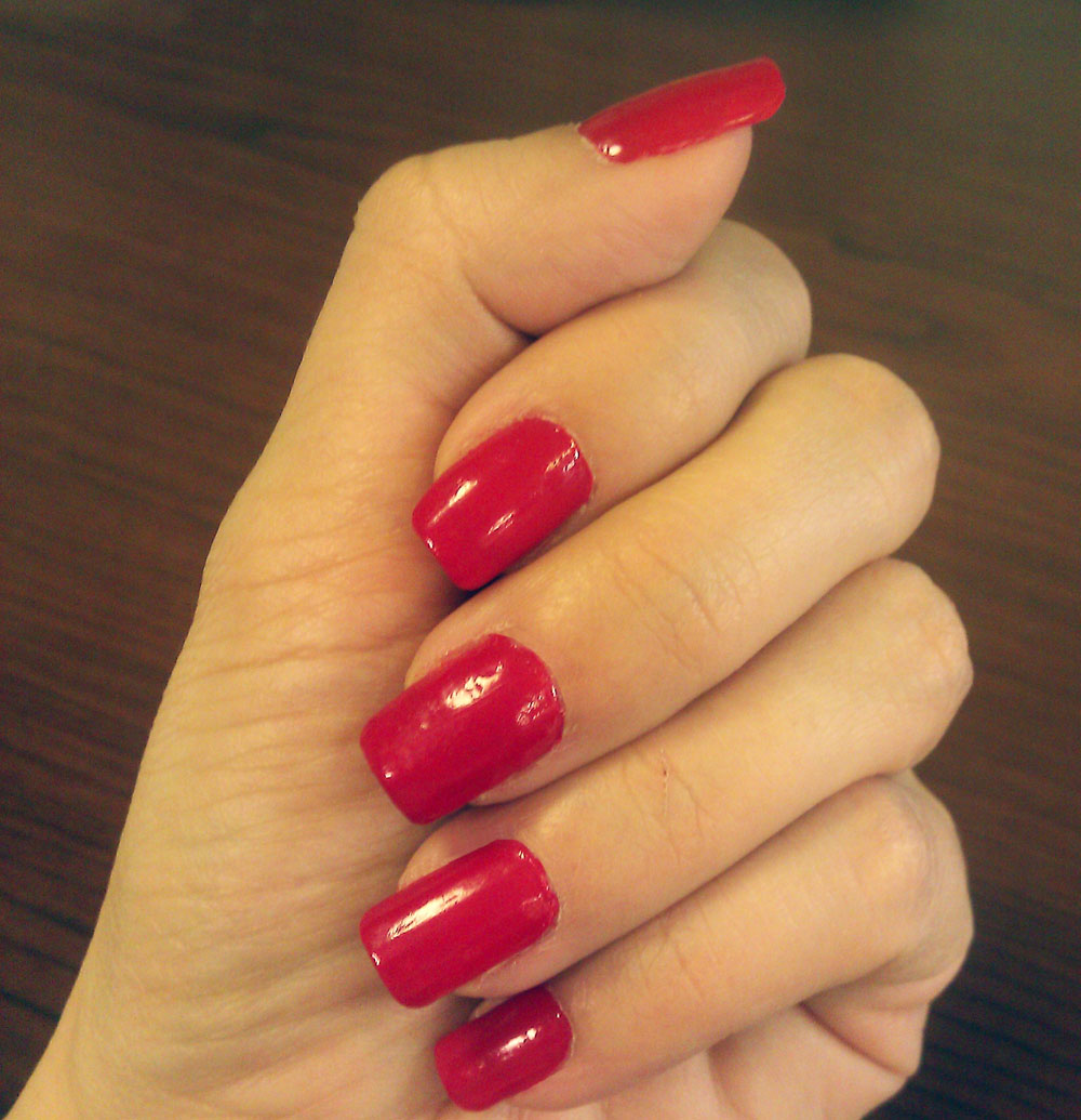 Nails tumblr red ~ Beautify themselves with sweet nails