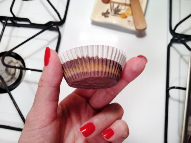 peanut butter cup out of freezer